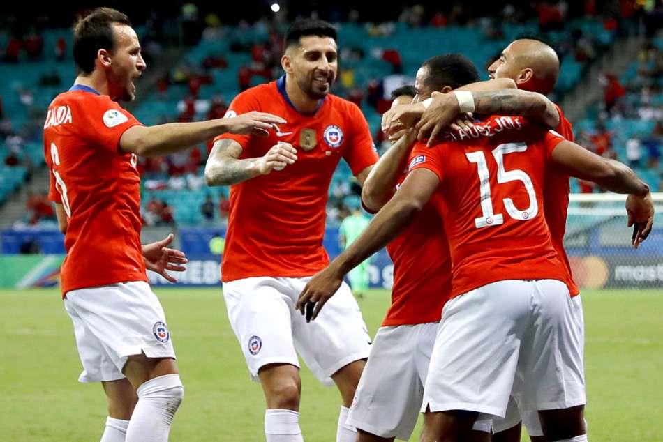 Ecuador Chile Alexis Sanchez Copa America