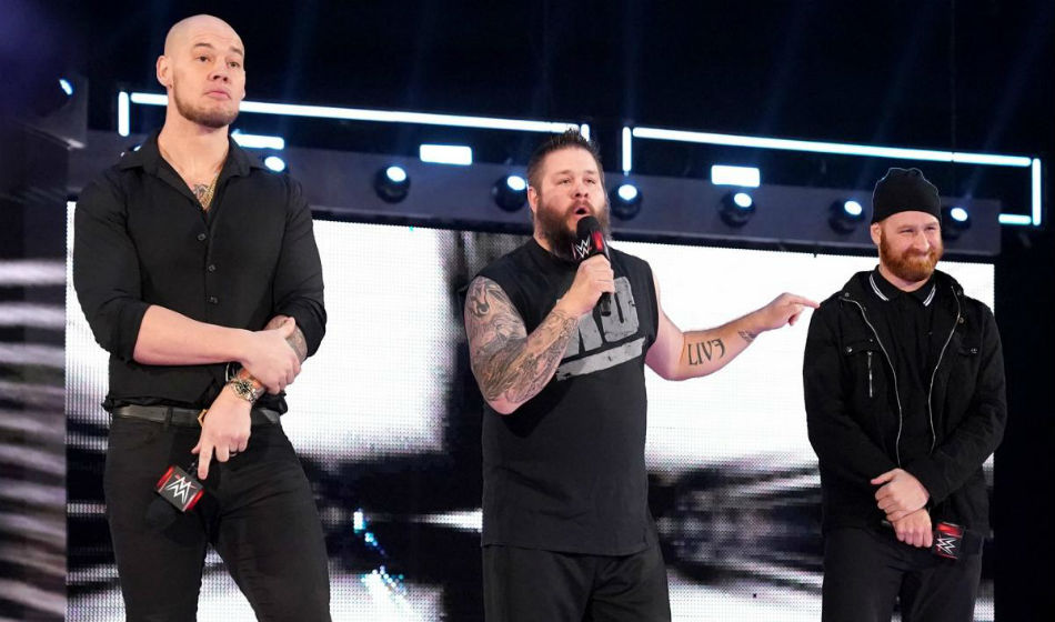 Baron Corbin (extreme left) to reveal guest referee on Raw (image courtesy WWE.com)