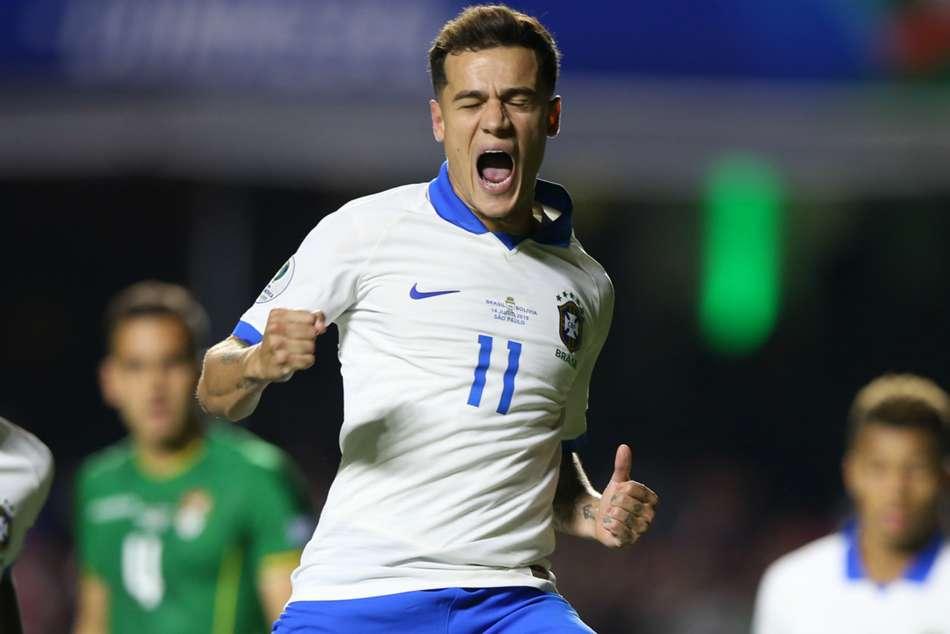 Brazil 3 Bolivia 0: Coutinho brace silences boos in Copa America opener