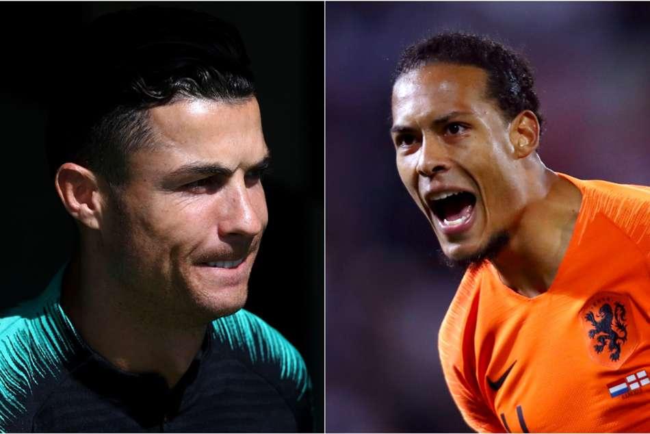 Nations League Final Virgil Van Dijk Cristiano Ronaldo Opta