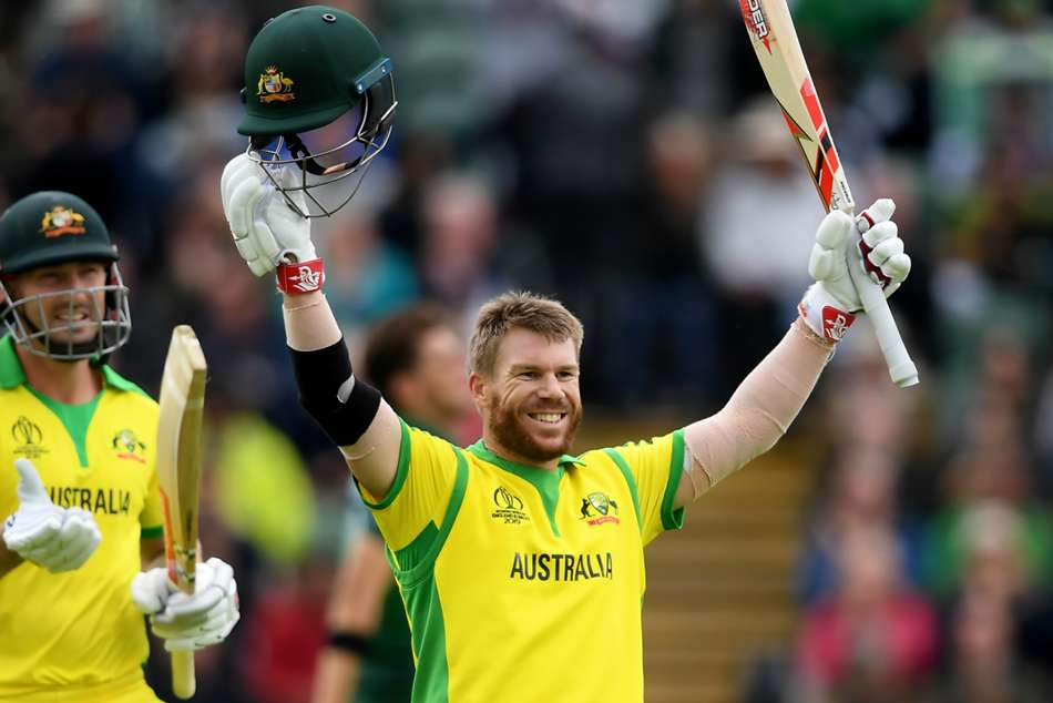 Icc World Cup 2019 Australia Cling On To Beat Pakistan After Warner Century