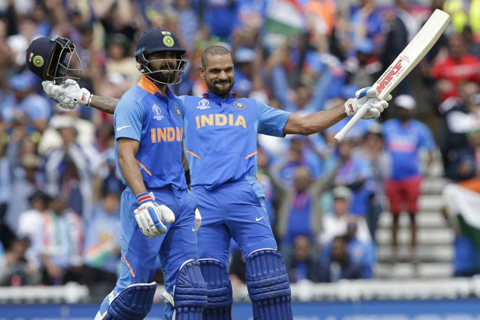 Icc World Cup 2019 India Vs Australia Highlights Dhawan Ton Secures Easy Win For India