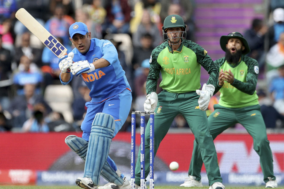 Dhoni Plays First Match Of 4th World Cup