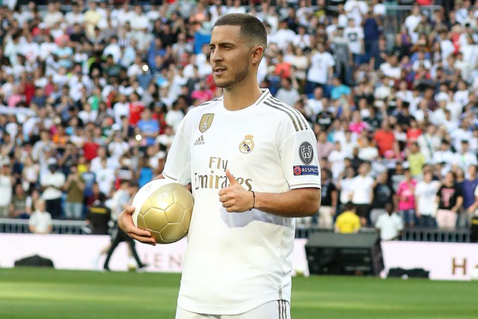 Im Not A Galactico Yet Says New Real Madrid Signing Eden Hazard