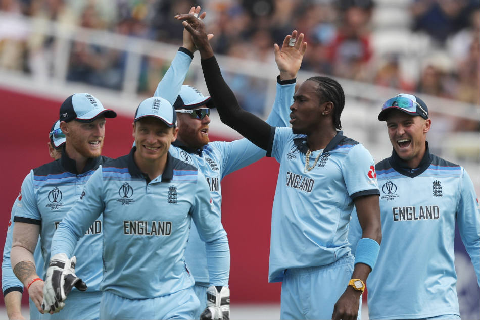 Englands Jofra Archer (second from right) ready for emotional West Indies clash