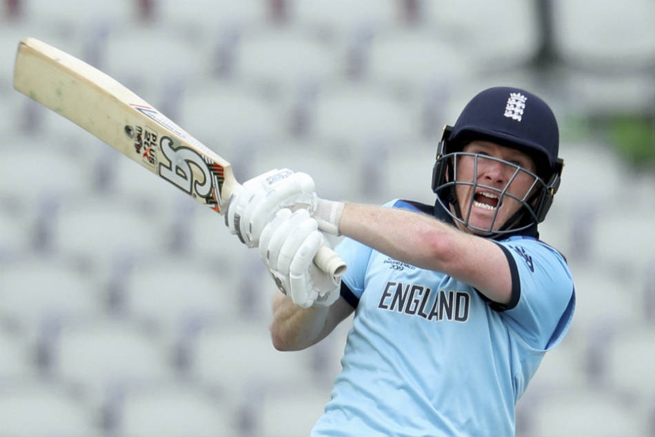 Icc World Cup 2019 Morgan Surprised By His Six Hitting Spre