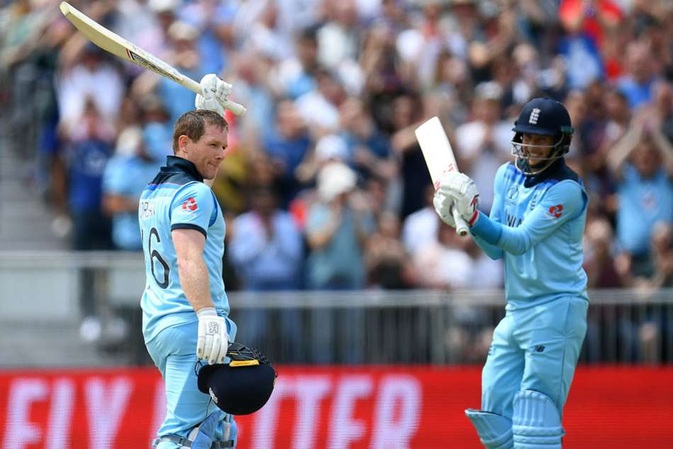 ICC Cricket World Cup 2019: Morgan hits record 17 sixes as England trounce Afghanistan