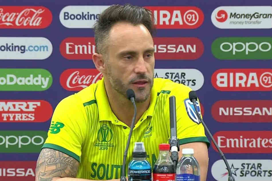 Not A Single Player In In Dressing Room Is Playing To His Potential Faf Du Plessis