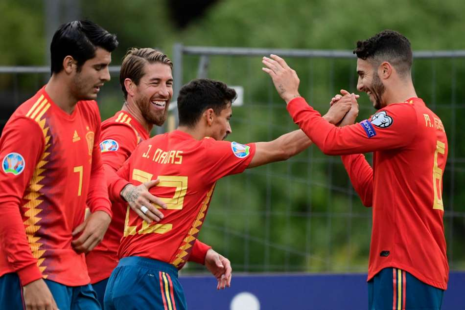 Faroe Islands 1 Spain 4 Ramos Continues Goalscoring Run In Comfortable Road Win