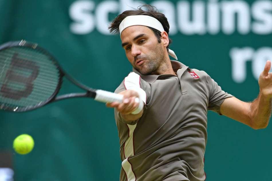 Roger Federer Beats Jo Wilfried Tsonga Halle Open
