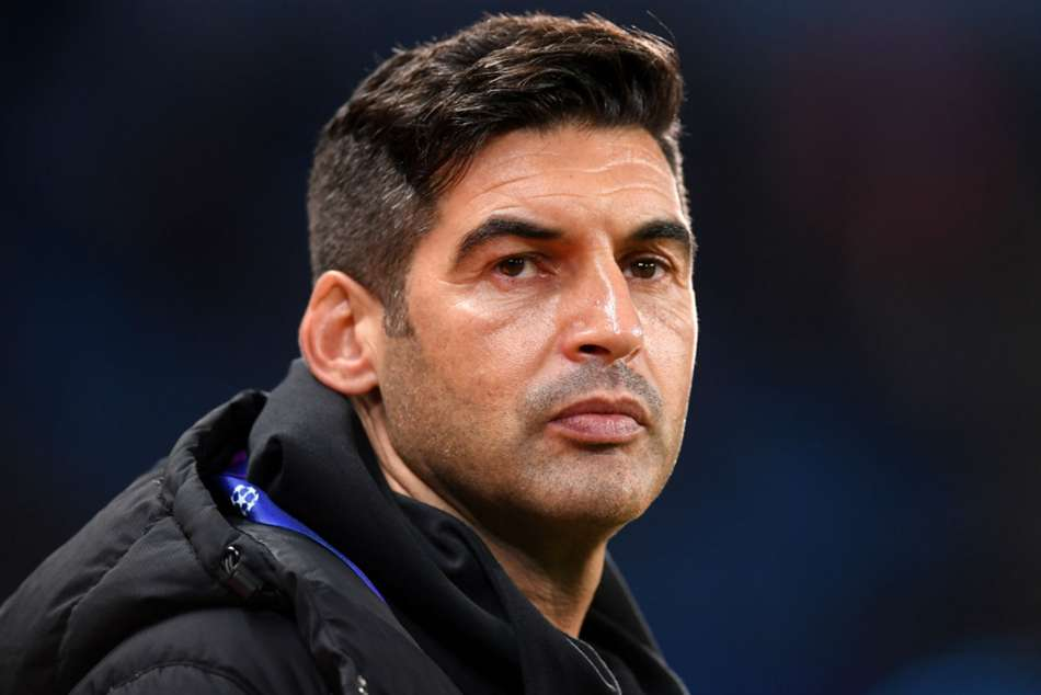 Roma Appoint Paulo Fonseca Serie A Shakhtar Donetsk