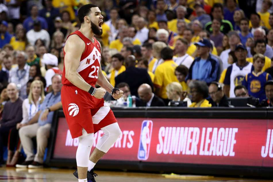 Raptors star Fred VanVleet scored 22 points off the bench