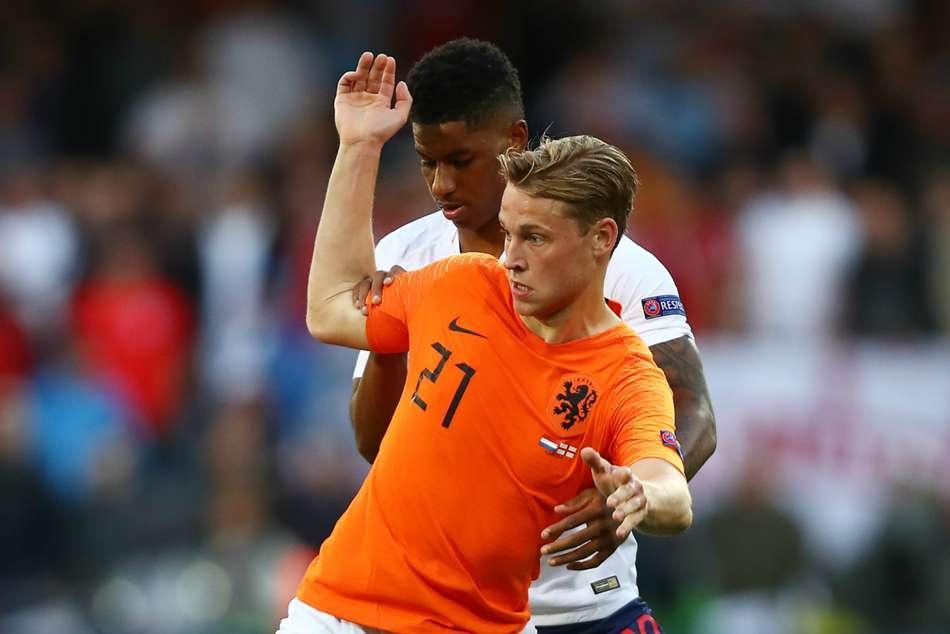 Ronald Koeman Frenkie De Jong Nations League Netherlands England