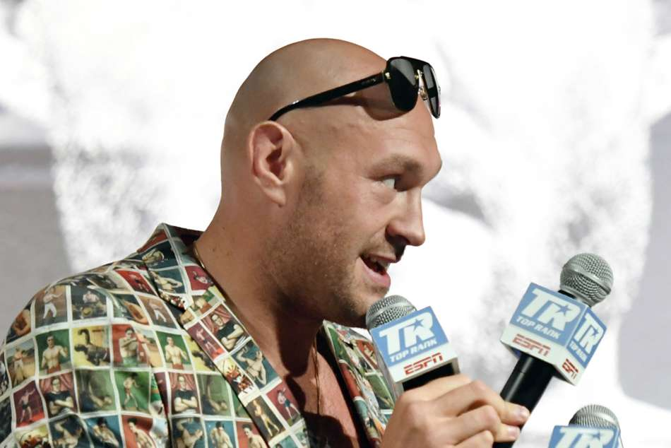 Tyson Fury takes on Tom Schwarz at the MGM Grand on June 15
