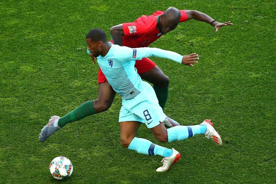Georginio Wijnaldum Frustrated As Netherlands Miss Out On Nations League Title Uefa Champions League Marten De Roon Euro
