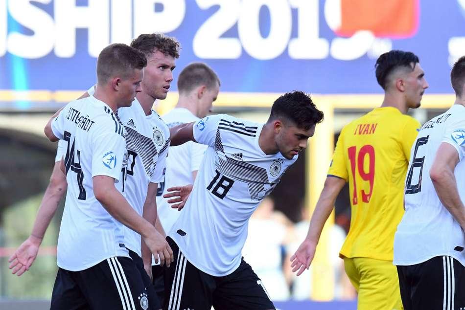 Germany Romania European Under 21 Championship Gian Luca Waldschmidt