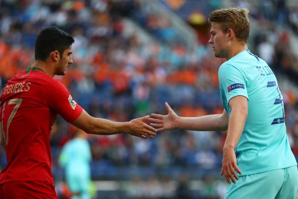 Portugal Netherlands Goncalo Guedes Nations League Final