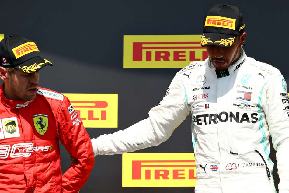 Hamilton Asks Vettel To Stick Around In F