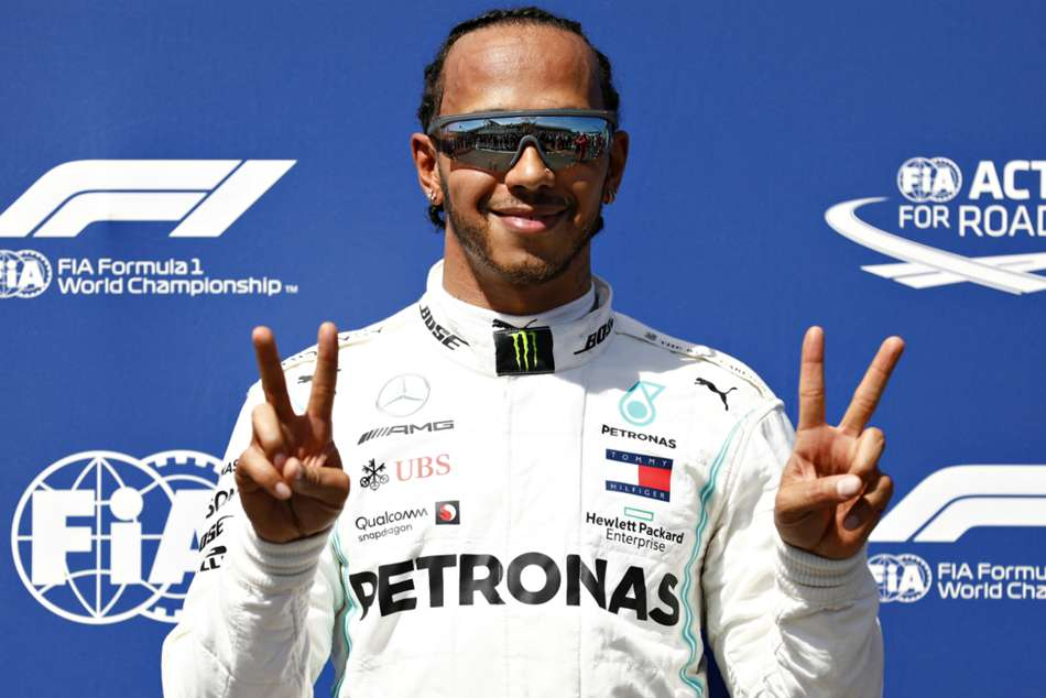 Hamilton Eases To Pole In France As Vettel Struggles To Seventh