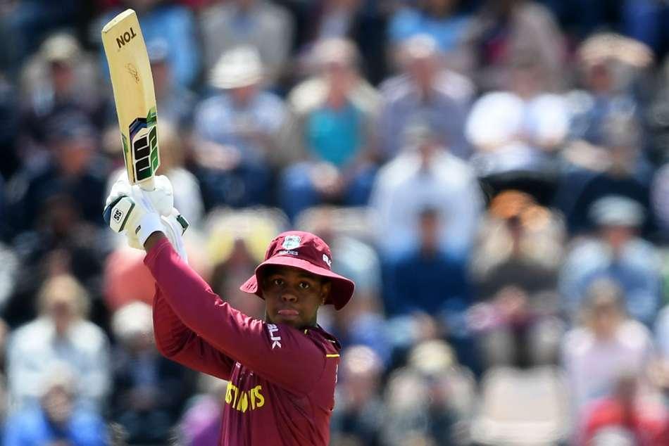 Shimron Hetmyer Floppy Sun Hat West Indies India Cricket World Cup