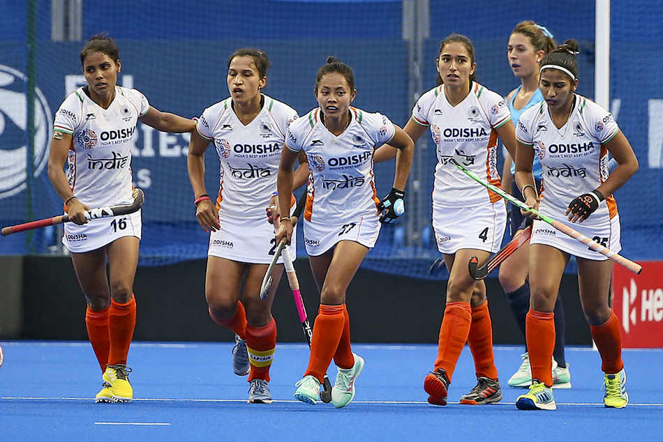 Indian Women S Hockey Team Beats Chile Secures Berth In Olympic Qualifiers Final Round
