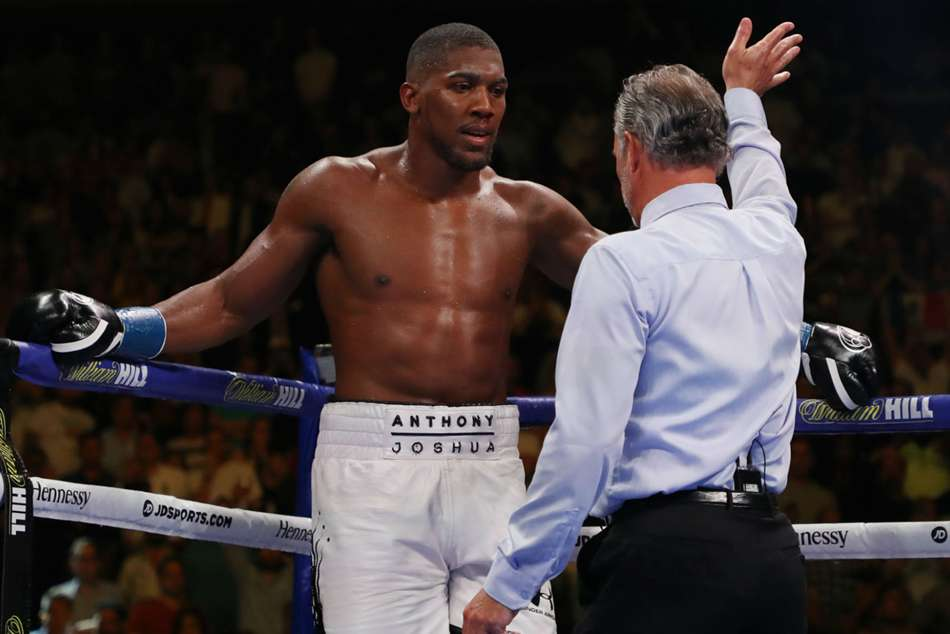 Anthony Joshua was stopped in the seventh round by Andy Ruiz at Madison Square Garden