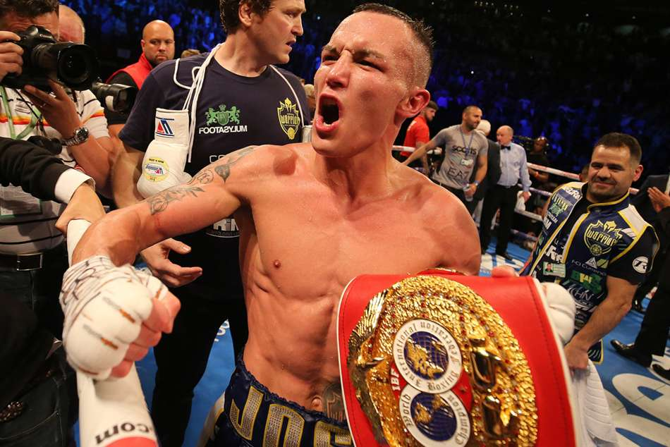 Josh Warrington Kid Galahad Ibf Featherweight Title
