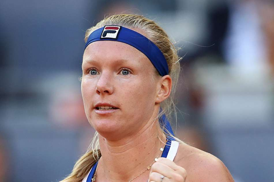Kiki Bertens triumphed 6-4 6-4 to reach her first WTA Tour final