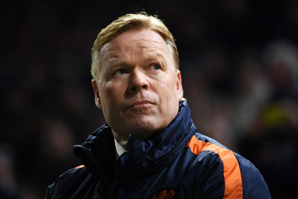 Ronald Koeman Barcelona Coach Netherlands