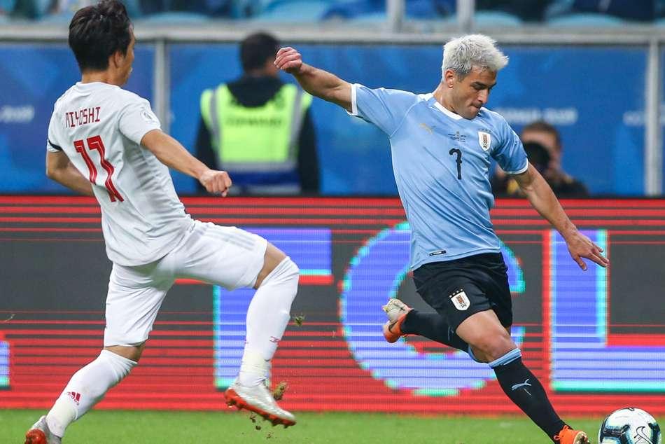 Uruguay 2 Japan 2 Miyoshi Suarez Copa America Var