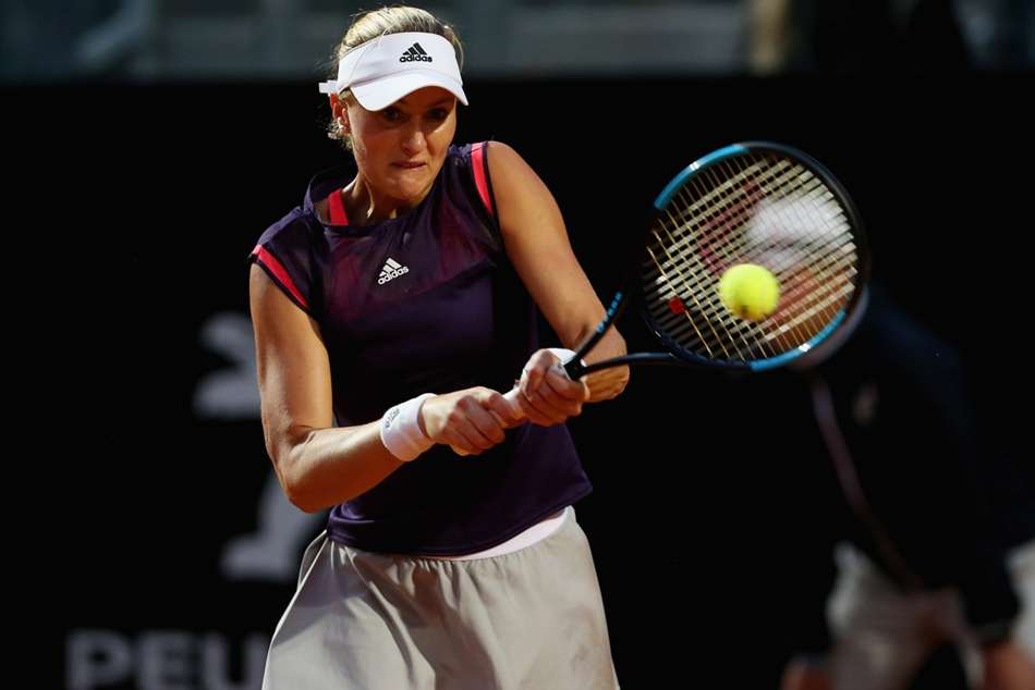 Kristina Mladenovic was too good for qualifier Magdalena Frech in the Nottingham Open