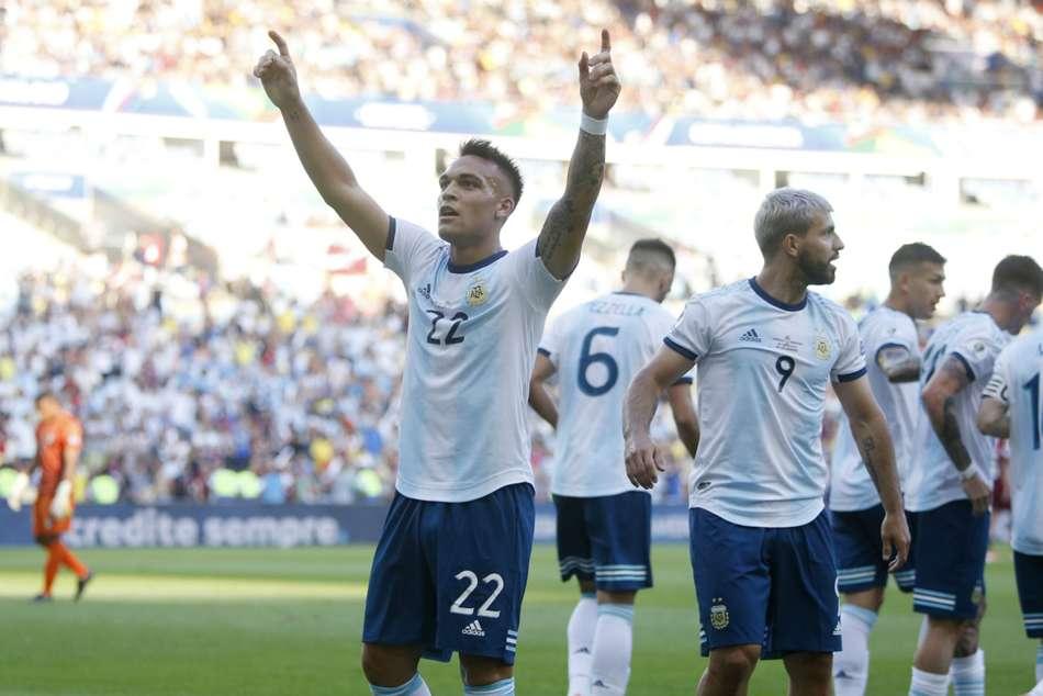 Venezuela 0 Argentina 2 Lautaro Martinez Brazil Copa America