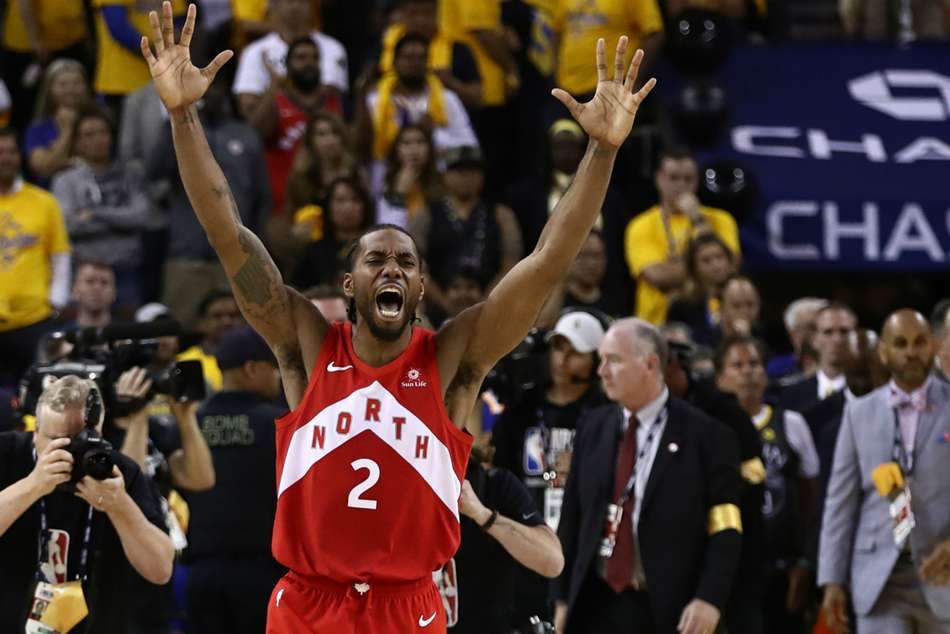 Raptors star Kawhi Leonard crowned Finals MVP