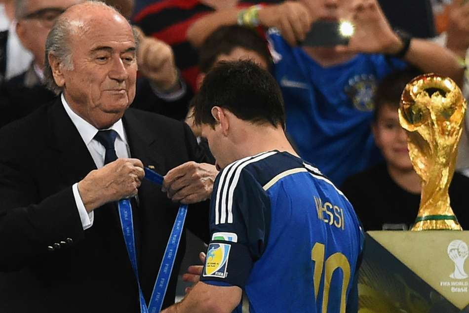 Lionel Messi World Cup 2014 Final Terrible Give Barcelona