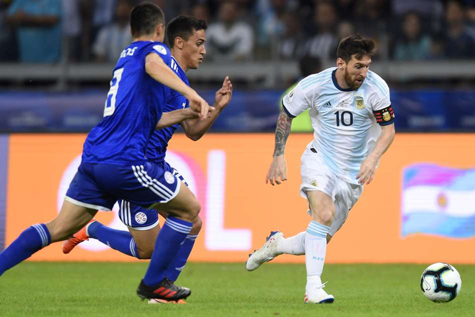 Argentina 1 Paraguay 1: Messi scores but Copa America exit looms
