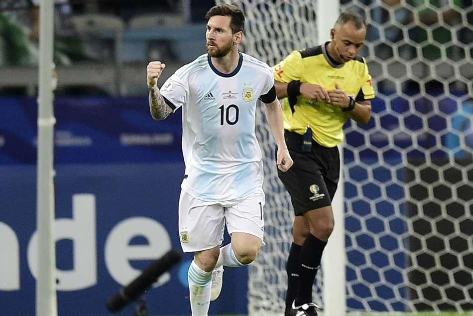 Messi Argentina Qatar Copa America