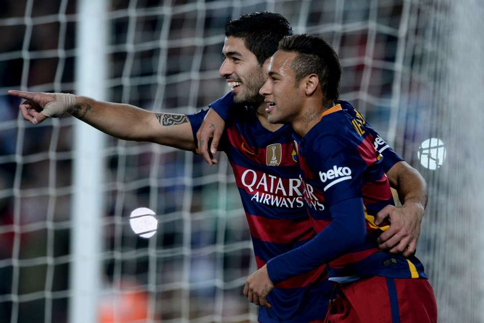 Suarez: Who wouldn't want to enjoy players like Neymar?