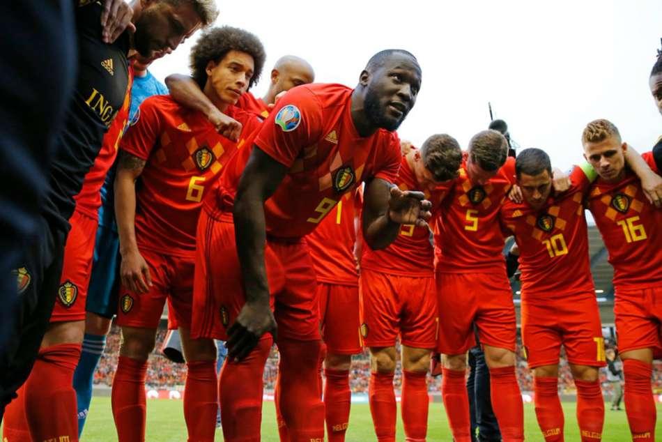 Belgium 3 Scotland 0 Lukaku Romelu Double Euro
