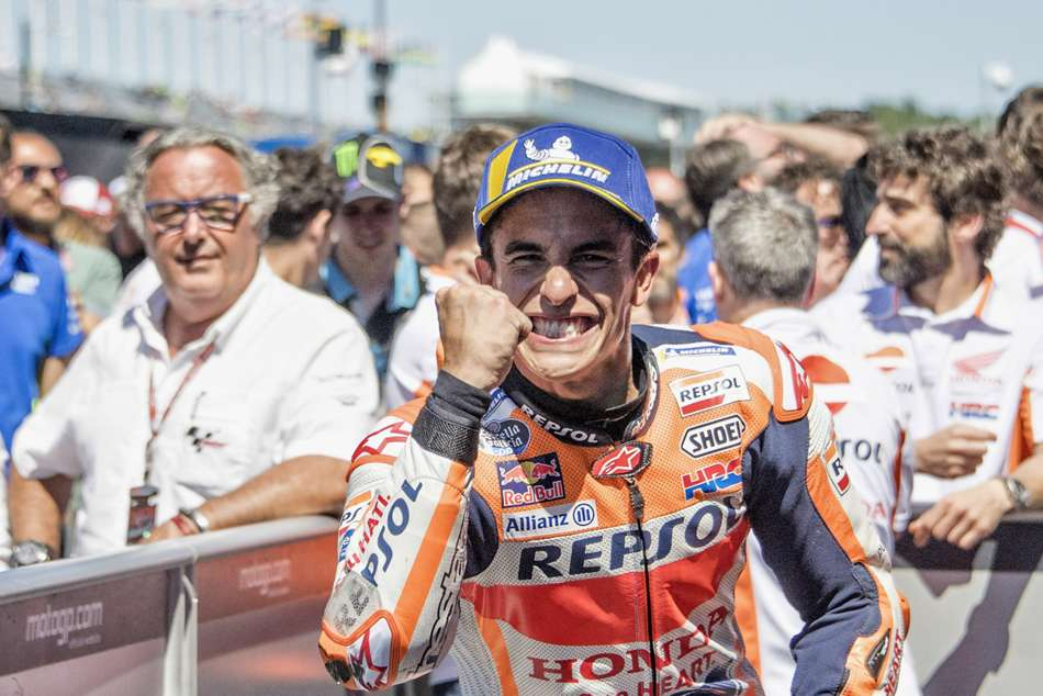 Motogp Raceweek Marc Marquez Unstoppable Tt Dutch Grand Prix In Numbers