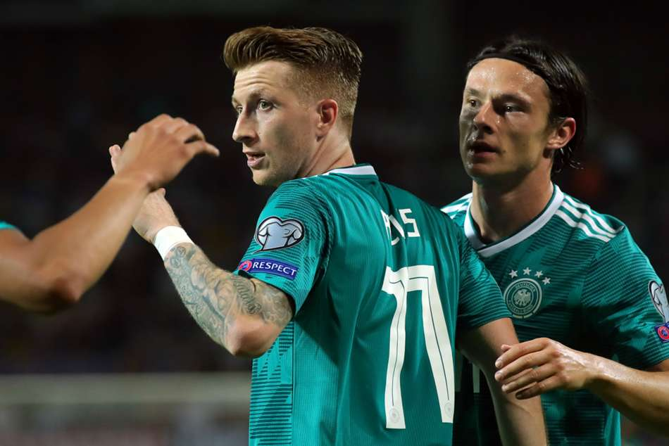 Belarus 0 Germany 2 Sane Reus Euro 2020 Qualifying Match Report
