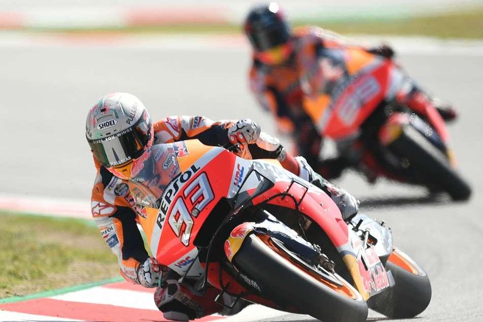 Motogp Raceweek Tension Repsol Honda Barcelona