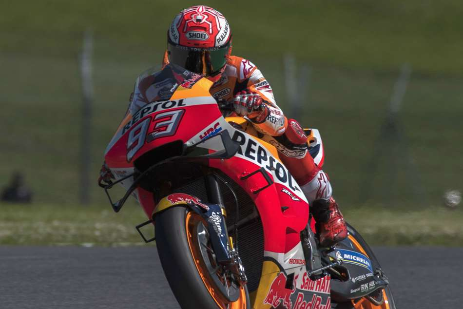 Motogp Raceweek Marquez Takes Mugello Pole Rossi To Start 18th