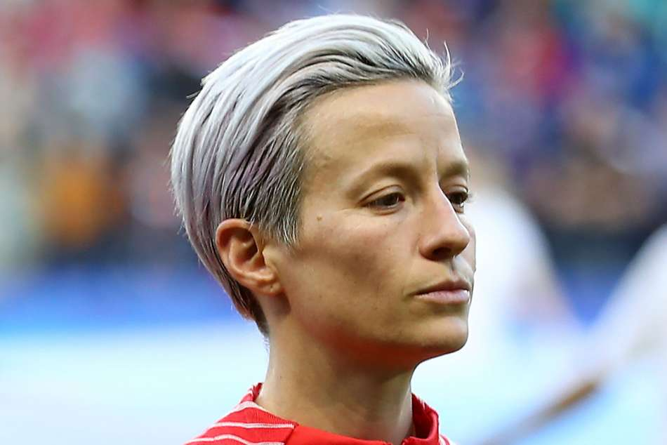 US president Trump criticises Rapinoe's anthem protest