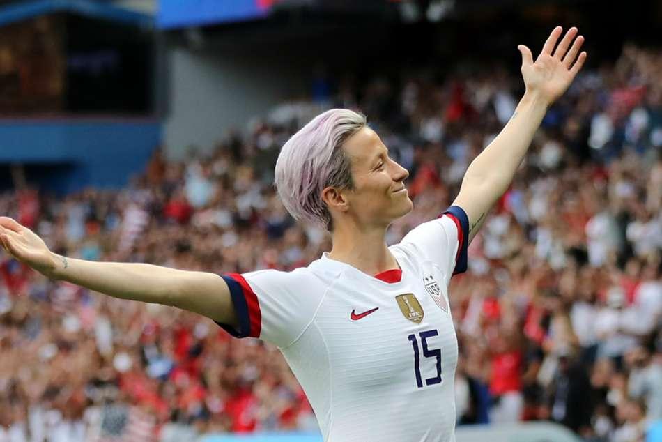 France 1 United States 2 Womens World Cup Megan Rapinoe