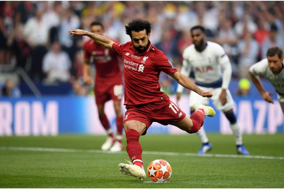 Champions League Final Tottenham Liverpool Salah Second Fastest