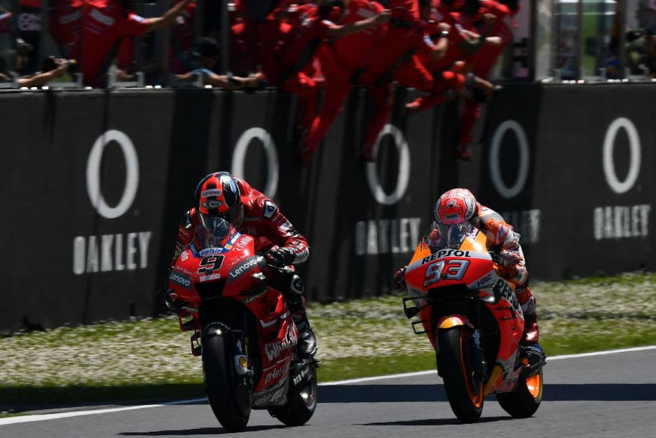 Motogp Analysis How Petrucci Won His First Grand Prix