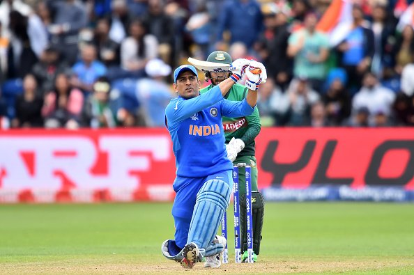 MS Dhoni stumped for the second time in ODI career
