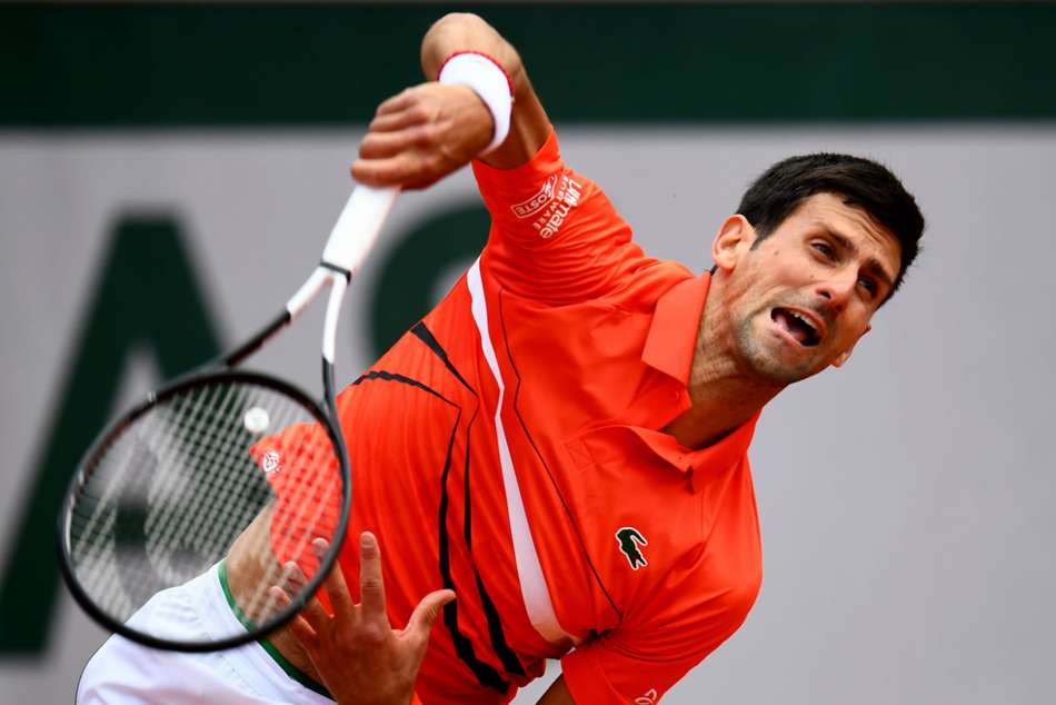 French Open Rampant Djokovic Unscathed After Overpowering Iconsistent Zverev