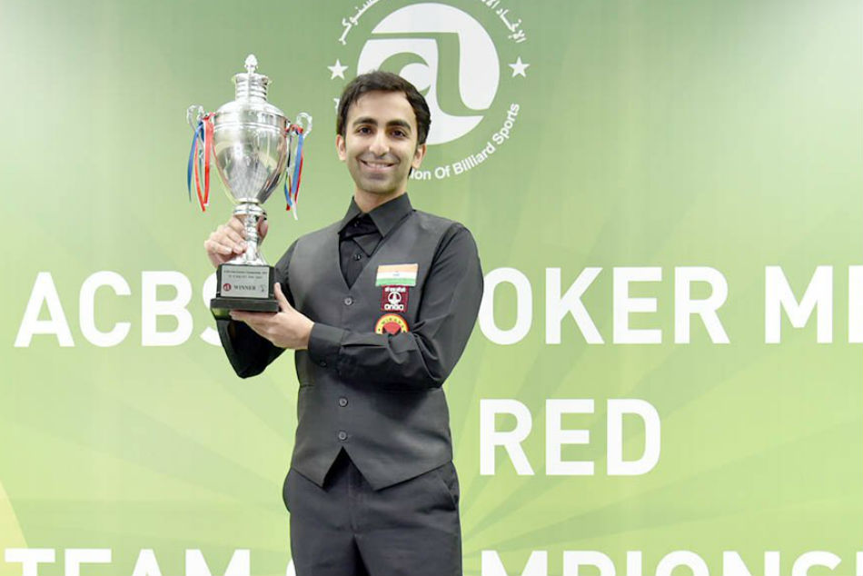 Asian Men Snooker Title Pankaj Advani Wins Title