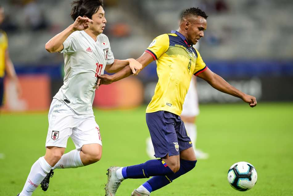 Ecuador and Japan played 1-1 draw